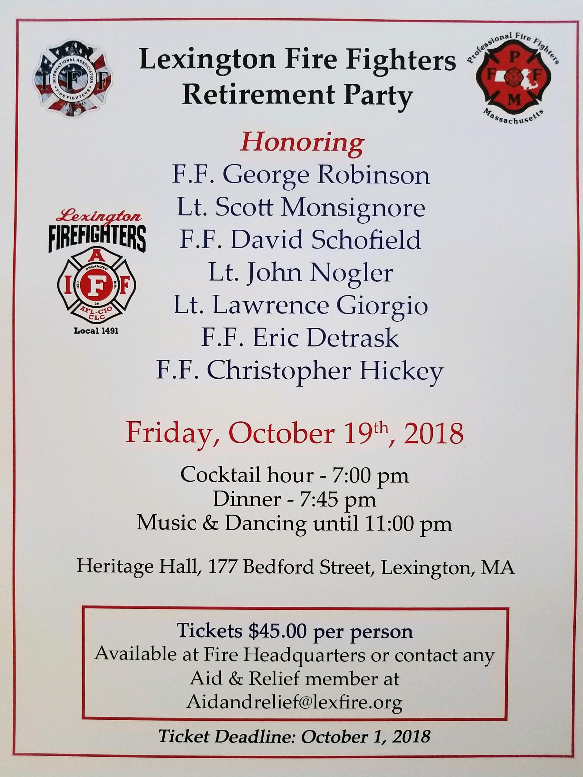 Lexington Fire Fighters